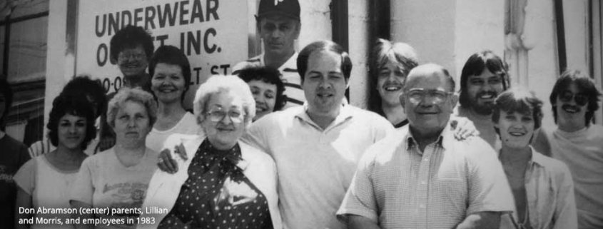 Don Abramson and family