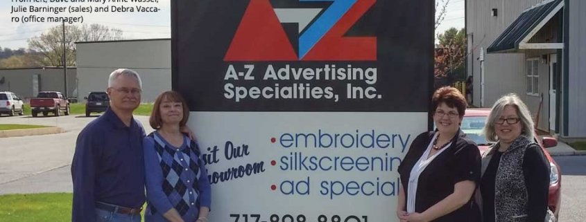The A-Z Advertising Specialties team