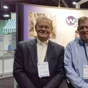 While at The Clean Show, Allan stopped by to visit with Tim Glenn and Steve Cash of WashTech