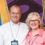 Allan and Gayle Fowler at the 2014 Conference