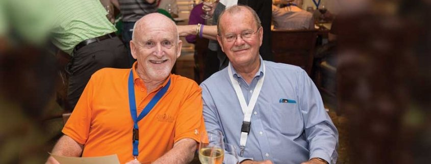 Jim Gardner joins Allan Fowler at the 2015 Universal Unilink Business Development Confernce