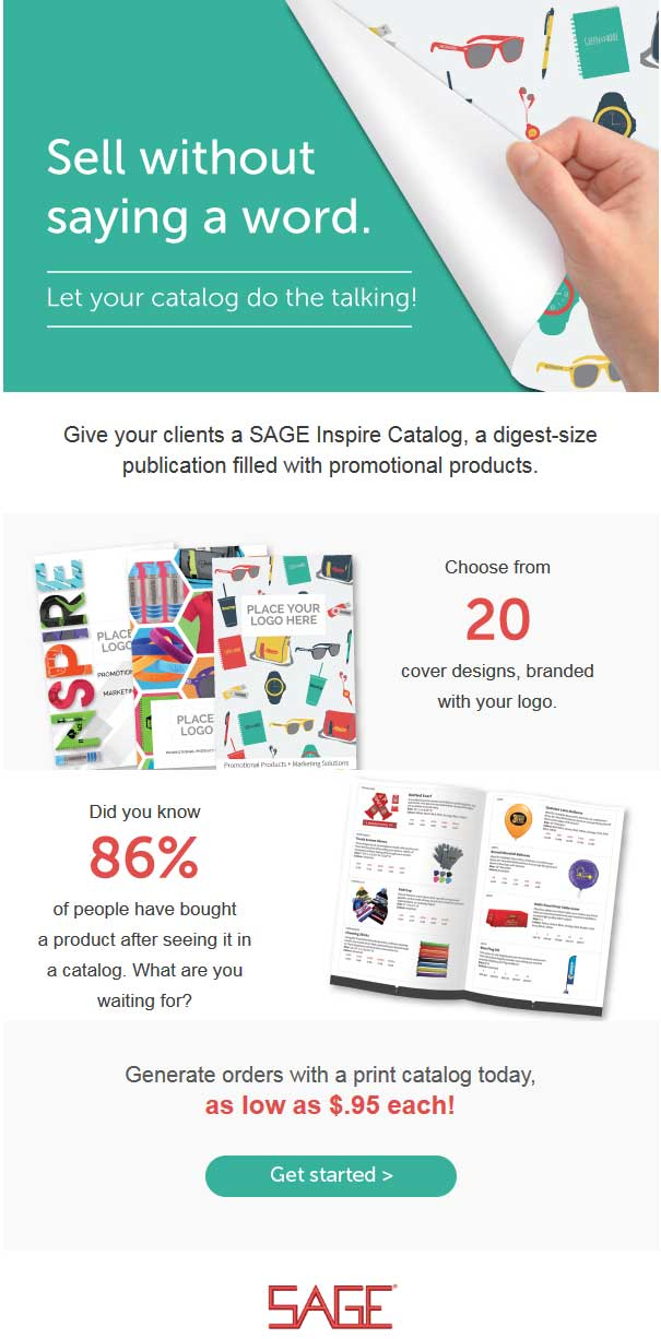 Custom catalogs from SAGE