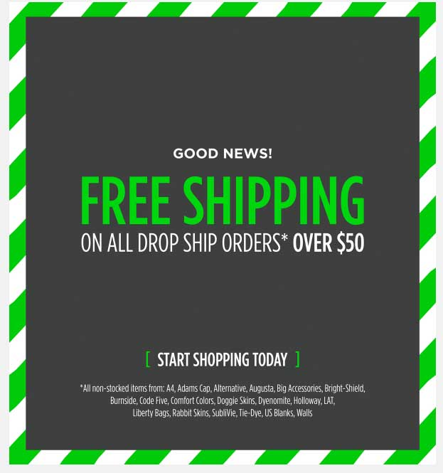 alphabroder free shipping