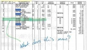 example invoice